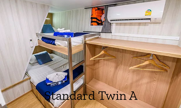 Deep Andaman Queen Liveaboard Standard Twin 1