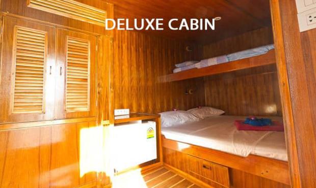 Giamani Thailand Liveaboard Deluxe Cabin 1