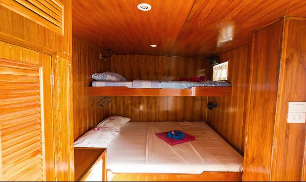 Giamani Thailand Liveaboard Deluxe Cabin 2