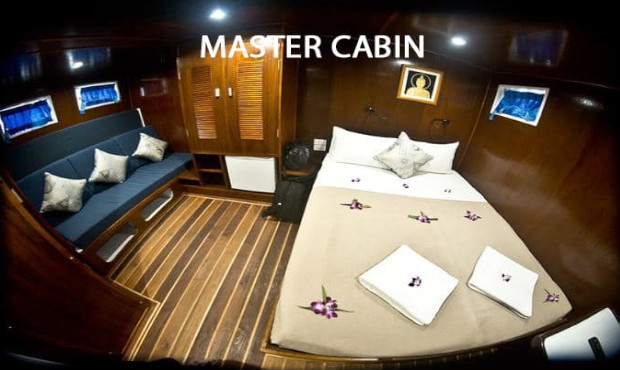 Giamani Thailand Liveaboard Master Cabin 1