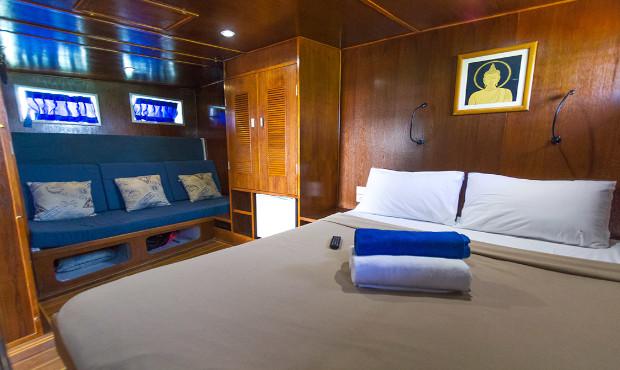 Giamani Thailand Liveaboard Master Cabin 2