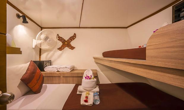 Pawara Thailand Liveaboard Budget Cabin 1