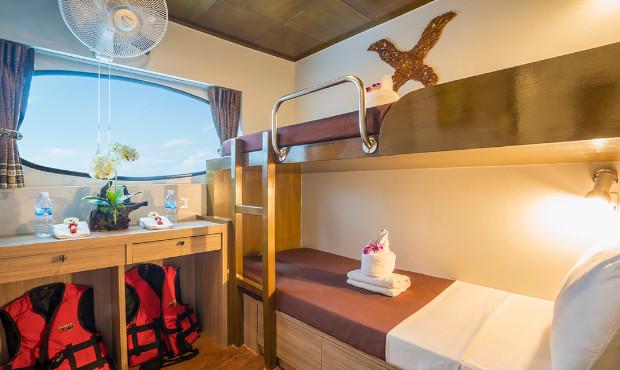 Pawara Thailand Liveaboard Deluxe Cabin 1