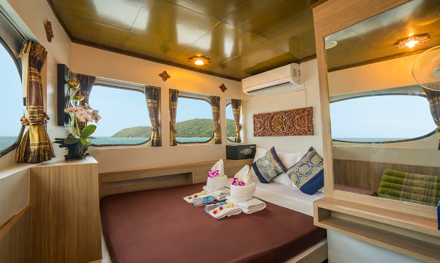 Pawara Thailand Liveaboard Master Cabin 1