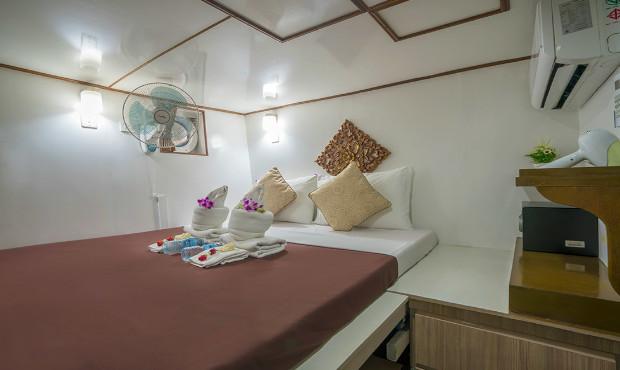 Pawara Thailand Liveaboard Standard Cabin 1
