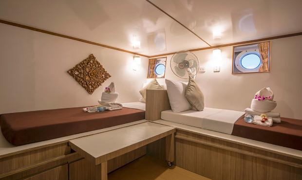 Pawara Thailand Liveaboard Standard Cabin 2