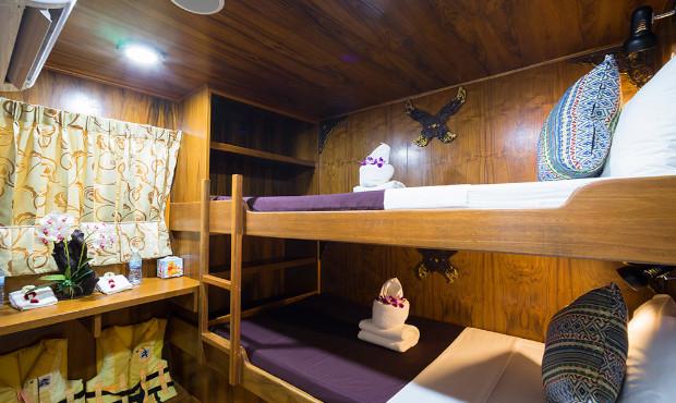 Sawasdee Fasai Thailand Liveaboard Deluxe Cabin 1