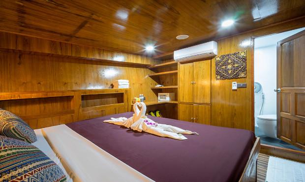 Sawasdee Fasai Thailand Liveaboard Standard Cabin 1