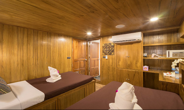 Sawasdee Fasai Thailand Liveaboard Standard Cabin 2