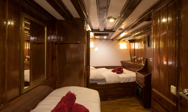 The Phinisi Thailand Liveaboard Duoble Twin Cabin