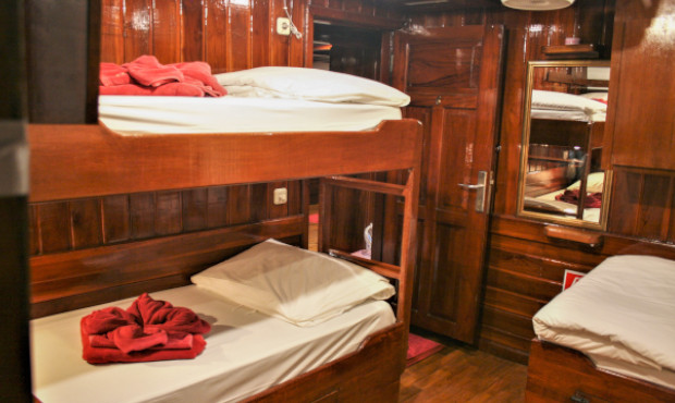 The Phinisi Thailand Liveaboard Quad Cabin