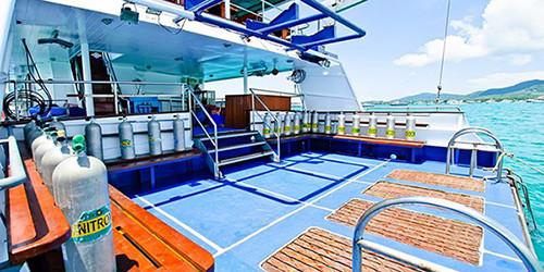 Deep Andaman Queen Thailand Liveaboard Similan Islands