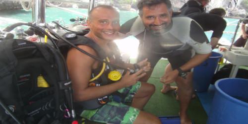 Luna Diving Padi Scuba Diving Instructor Giorgio Odoni
