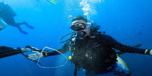 Luna Diving Thailand Padi Scuba Diving Instructor Giorgio Odoni